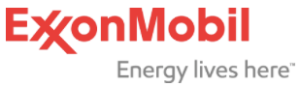 ExxonMobil logo - Energy lives here