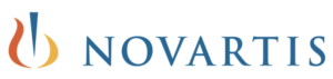 Logo of Novartis pharmaceuticals