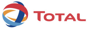 logo of Total SA and integrated French multinational oil and gas company